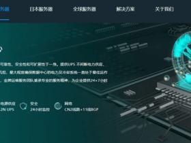 大带宽站群服务器/G口_SSD硬盘_BGP线路